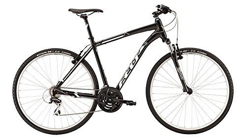 フェルト 2015 QX60(キューエックス60) クロスバイク B079GN9YTNサテンブラック 440mm(155-165cm)