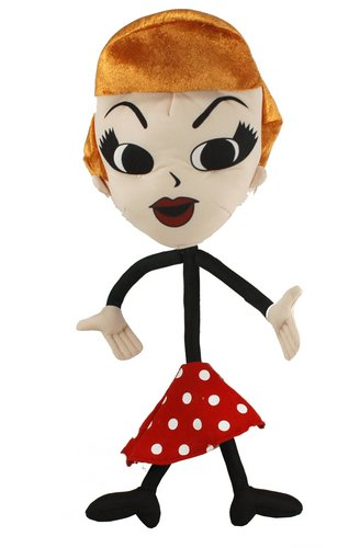 I Love Lucy Stick Figure Poseable (Lucy Plush)