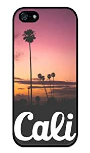 California Sunset Beach Surfing- Apple iPhone 5 Case - iPhone 5s Case - Hard Plastic Case