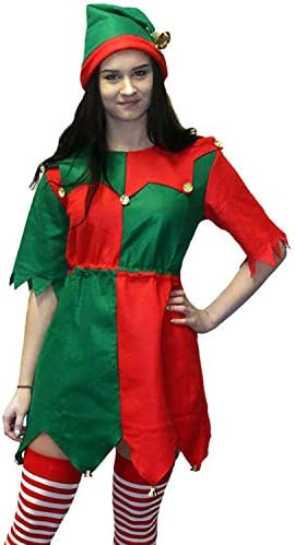 Da DONNA ELF CHRISTMAS FILM /& Tv Costume