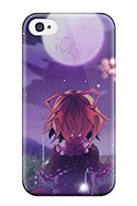 TYH - cherry blossoms moon medicine melancholy Anime Pop Culture Hard Plastic iPhone 4/4s cases 3071623K850673437 phone case