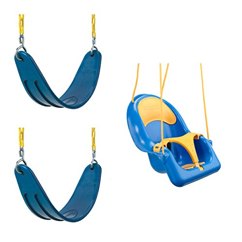 Heavy Duty Swing and Toddler Coaster Swing Bundle - Includes