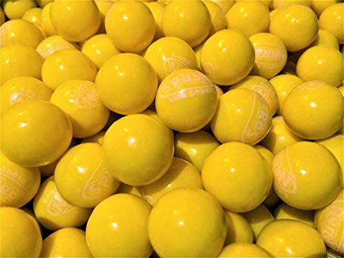 Yellow Wonka Nerds Filled Gumballs - 1 Pound Bulk Pack