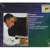 Bernstein Conducts and Plays Bernstein (Symphonies: Jeremiah/The Age of Anxiety/Kaddish; Serenade; Chichester Psalms; Prelude, Fugue and Riffs) (Leonard Berstein, A Portrait)