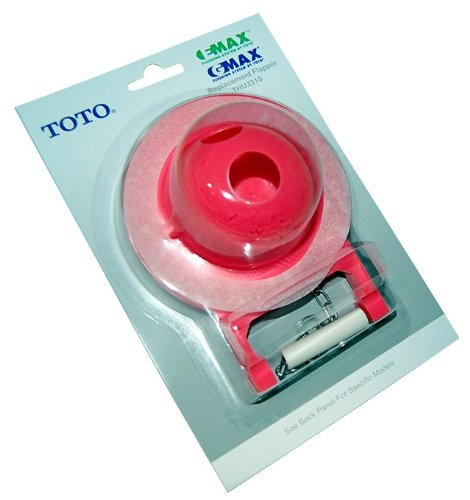 TOTO THU331S 28+1 Rings Flapper for Toilet by TOTO