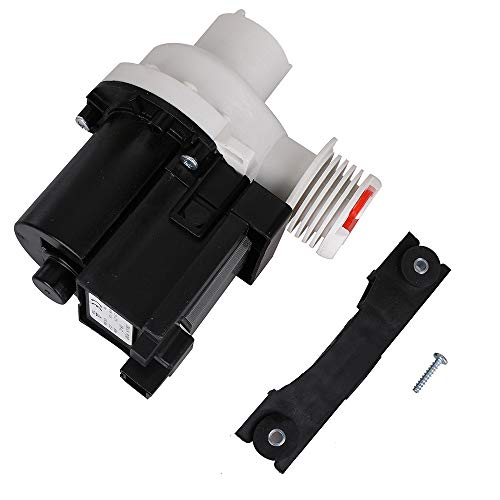 137221600 Washer Drain Pump Kit Replacement Part for ELECTROLUX KENMORE Frigidaire Replace # TJ137108100 131724000 134051200 134051200 134740500 134740800 137108100 137151800 137151800KITK 137151900