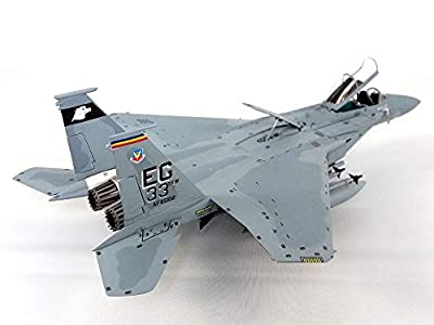Boeing F-15 (F-15C) Eagle - USAF 33rd FW - with Display Stand - 1:72 Scale Diecast Model