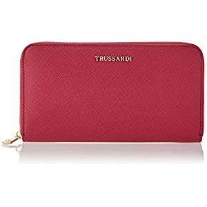 Trussardi Jeans Around, Mosca Zip 3 Pocket LG Wallet S Donna 18