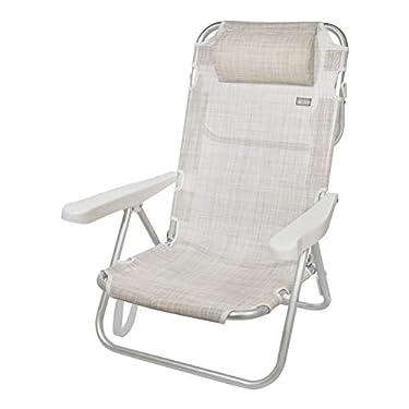Aktive-53975-Silla-plegable-multiposicion-aluminio-62-x-48-x-83-cm-beige
