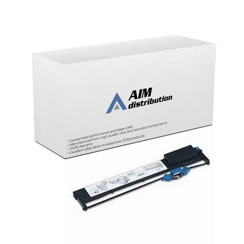 (AIM Compatible Replacement for IBM 9068-A01/A03 Black Printer Ribbons (6/PK) (07K4446) - Generic)