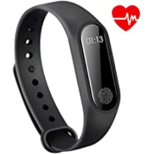 MirrorAurora Bluetooth Smart Watch Band Fishion Fitness Tracker/Smart Bracelet With Heart Rate / Sleep Monitor / Pedometer Led Display For iPhone & Android