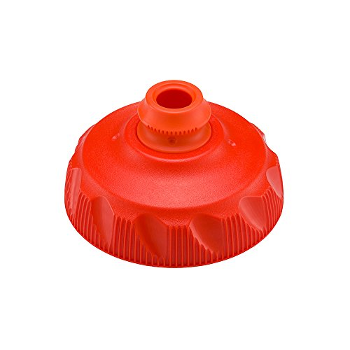 (Polar Bottle Zipstream Insulated Water Bottle High Flow Cap - Tomato, One Size)