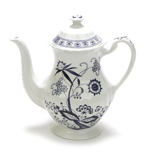 Blue Nordic by Meakin, J & G, China Coffee Pot
