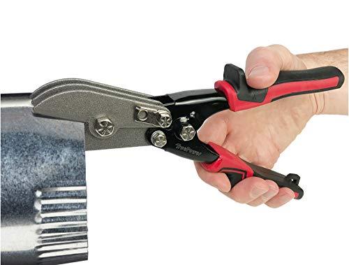 (Gino Development 02-0105 TruePower 5-Blade Hand Crimper HVAC Ductwork Tool,)