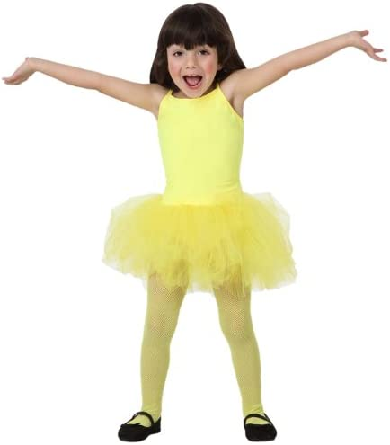 Atosa-16994 Disfraz Bailarina Ballet, color amarillo, 7 a 9 años ...