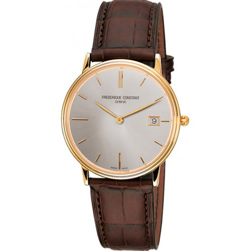 Frederique Constant Slim Line Men's Quartz Watch - FC-220NV4S5