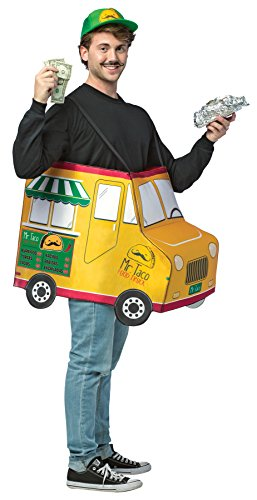 Taco Dress Womens Costumes (UHC Mr.Taco Food Truck Outfit Funny Theme Fancy Dress Halloween Costume, OS (48-52))