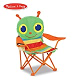 Melissa & Doug Melissa   Doug Sunny Patch Happy Giddy Child s Outdoor Chair Easy to Open Handy Cup Holder Cleanable Materials Carrying Bag 23.7 H x 6.7 W x 6.7 L