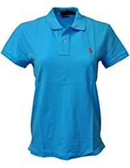 Polo Ralph Lauren Womens Classic Fit Mesh Polo Shirt