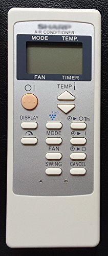 General AC A/C Remote Control Fit For Sharp CRMC-A729JBEZ CRMC-A805JBEZ CRMC-A663JBEZ CV-P09FL CV-P09FX CV-P09LX CV-P10MX Air Conditioner