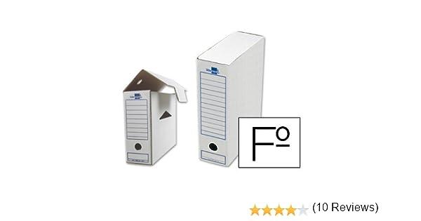 Liderpapel DF02 - Caja archivo definitivo: Amazon.es: Oficina y papelería