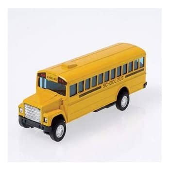 Amazoncom Us Toy Die Cast Metal Toy School Bus 5 Toys Games