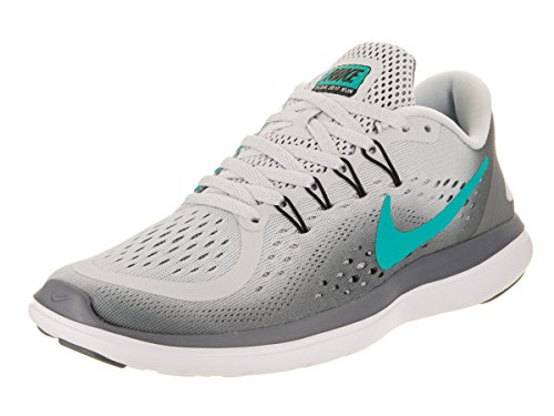 Rn Para Pure Flex Zapatillas Mujer Jade Grey De Platinum black Wmns cool Nike 2017 clear Running qw0xt8zI