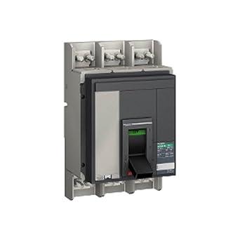 Schneider Electric 33488 NS1000NA Interruptor - Seccionador Compacto Caja Moldeada, Instalación Fija, NA Code Potencia de Conmutación, 3P Polo, 1000 Amps: Amazon.es: Industria, empresas y ciencia