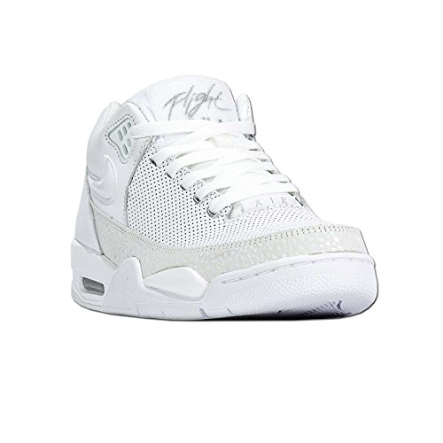 Nike - FLIGHT SQUAD - Basketball - Mid Top - Sneaker - Weiß