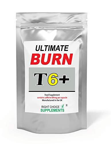 Ultimate Burn T6+ Capsules   Food Supplement   Made in The U.K (60)