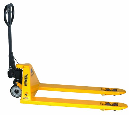 Wesco 272667 Pallet Truck with Hand Brake, 48