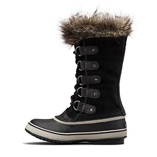 Sorel - Women's Joan of Arctic Waterproof Insulated Winter Boot, Black/Quarry, 8.5 M US