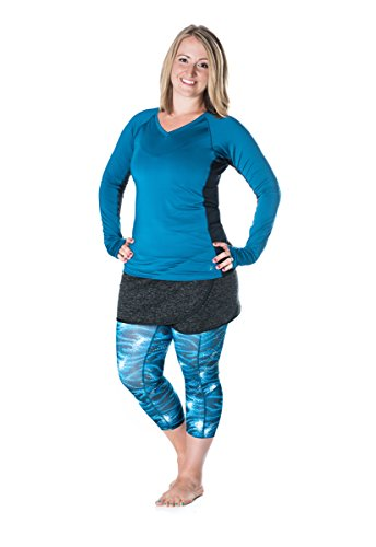 Skirt Sports Women's Toasty Cheeks Skirt, Perfect Winter Running Skirt, Athletic Skirt, or Casual Skirt to Pair With Running Tights or Leggings, Black Speckle