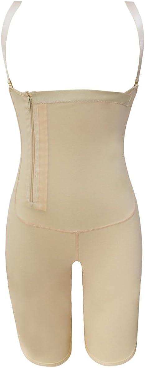 MISSMAO Damen Shapewear Body Stark Figurformend Taillenformer Schlank Shaper Angenehm Mieder Bodysuit Miederbody Miederhose mit Bauch Weg Effekt