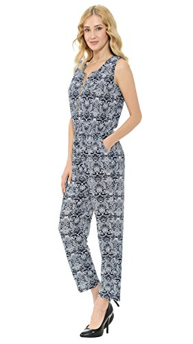 4e3c81ac8ba Amazon.com  VIV Collection Printed Harem Jumper w Variety of Styles   Clothing