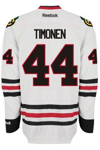 Kimmo timonen Chicago Blackhawks Reebok Premier Away Jersey