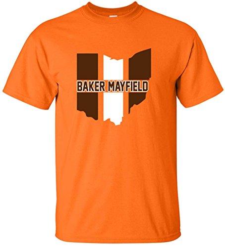 WB Shirts Orange Baker Cleveland State T-Shirt Youth