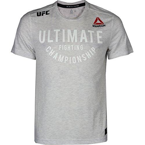 Reebok UFC Fight Night Franchise Graphic Walkout Jersey - chalk Heathered - X-Large