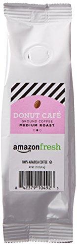 AmazonFresh Donut Cafe, 100% Arabica Coffee, Medium Roast, Ground, 1.75 Ounce