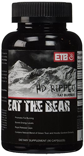 ETB Eat The Bear HD Ripped Supplement, 90 Count