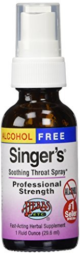 Singer's Saving Grace Professional Strength - Alcohol Free by Herbs Etc.