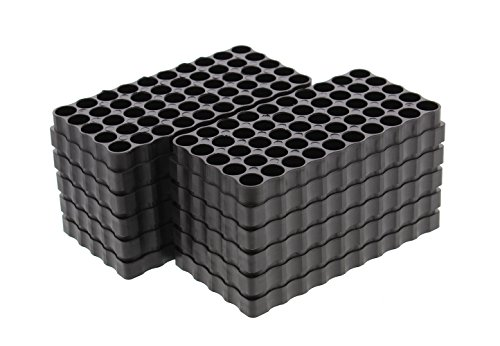 (Small Caliber 50 Round Universal Reloading Ammo Tray Loading Blocks 10-Pack)