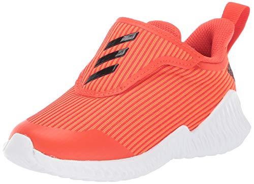adidas Baby Fortarun AC Running Shoe, Solar Black/Active Orange, 9K M US Toddler (Orange Adidas Baby)