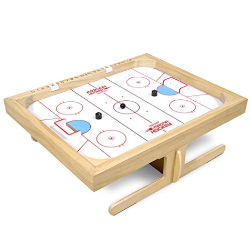 GoSports Magna Hockey Tabletop Board Game | Magnetic Game of Skill for Kids & Adults (Magnetic Hockey)
