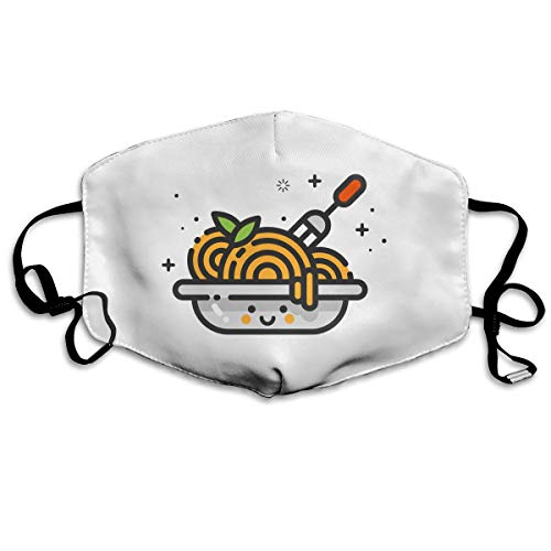 Mouth-Muffle Face Mask Unisex Noodles Adjustable Washable Anti-dust Woman Mens