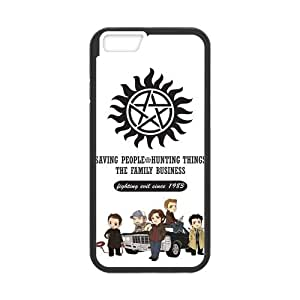 Supernatural Case Cover for iPhone 6,Custom Supernatural Cover Case Protector for iPhone 6 (PC and rubber TPU) 4.7 inch Screen Protector for iPhone6