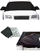 Windshield Cover Snow Magnetic Shade Ice Frost Rain Resistant, Waterproof Wind proof Dustproof Outdoor Car Covers PREMIUM