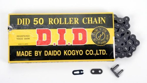 Triples Standard Chain (D.I.D 530 Standard Series Chain - 110 Links , Chain Type: 530, Chain Length: 110, Color: Natural, Chain Application: All 530 x)