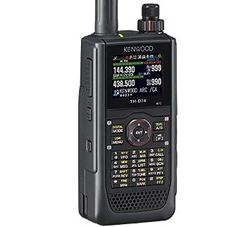 amazon com kenwood original th d74a 144 220 430 mhz triband with rh amazon com