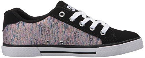 Dc Vrouwen Chelsea Se Skate Shoe Zwart / Multi